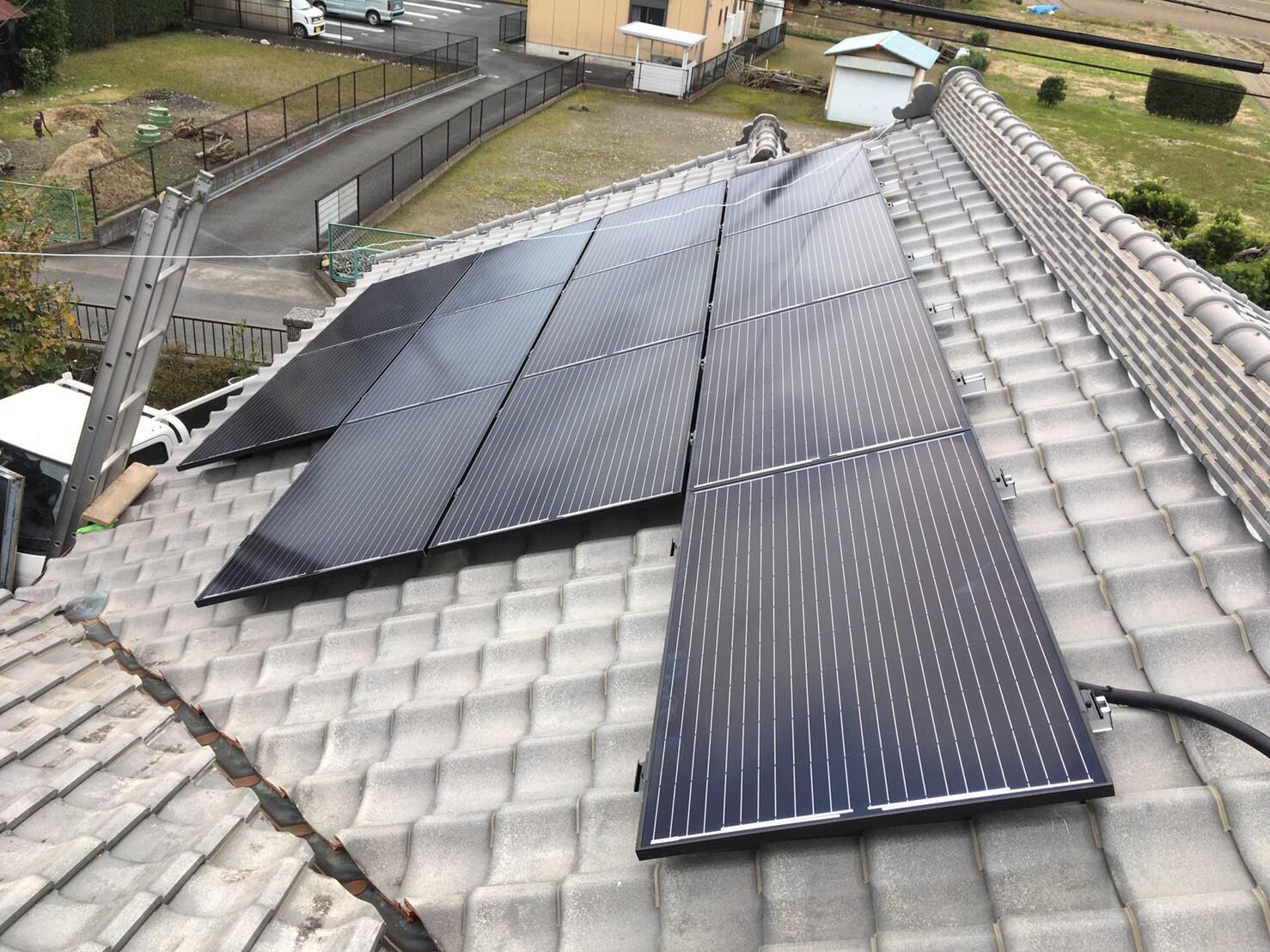 磐田市 太陽光パネル設置
